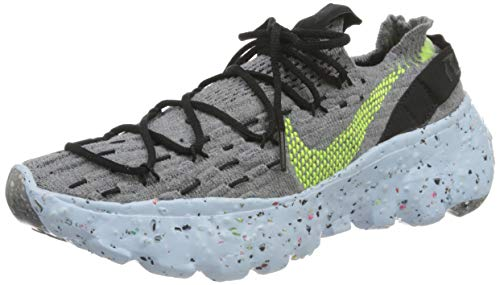 Nike Damen Space Hippie 04 Gymnastikschuh, Grey Volt Black Dk Smoke Grey, 36 EU