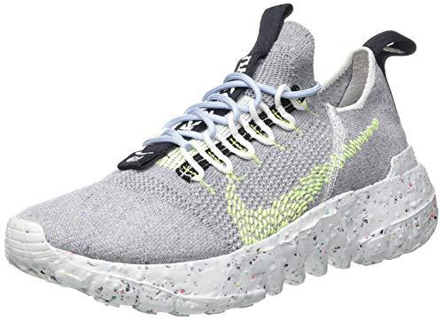 Nike Herren Space Hippie 01 Gymnastikschuh, Grey Volt Glow Photon Dust, 38 EU