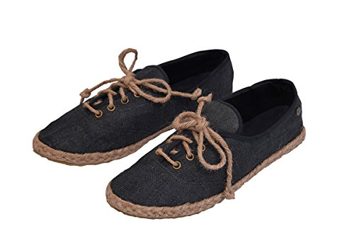 virblatt - Espandrillos Damen | 100% Hanf | Ballerinas Damen Sommerschuhe Damen Hippie Kleidung Damen Hippie Schuhe...