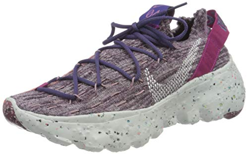 Nike Damen Space Hippie 04 Gymnastikschuh, Kactus Flower Photon Dust Gravity Purple, 39 EU