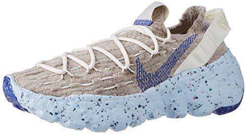 Nike Damen Space Hippie 04 Leichtathletik-Schuh, Sail Astronomy Blue Fossil Chambray Blue, 40.5 EU